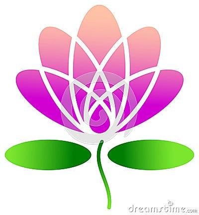 Disegno del loto