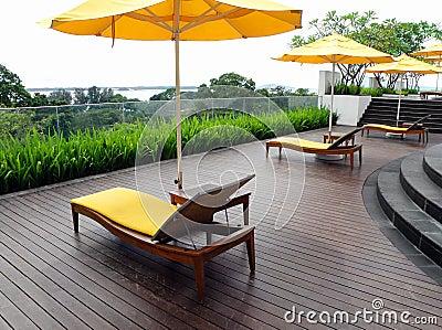 Home Garden  Patio on Home   Immagine Stock  Rooftop Garden Patio Design