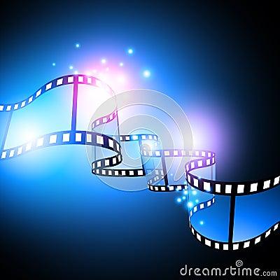 Disegno di festival di pellicola