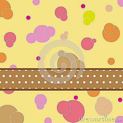 Disegno di scheda del reticolo del puntino