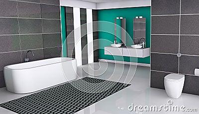 disegno pavimento Granito : Disegno Moderno Del Bagno Immagine Stock Libera da Diritti - Immagine ...