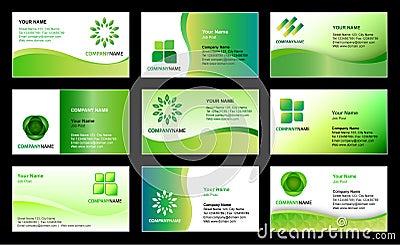 Diseño del modelo de la tarjeta de visita