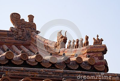 Diseño religioso del tejado