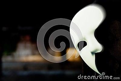 Disfarce - fantasma da máscara da ópera