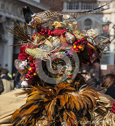 Disfarce Venetian do Sophisticate Imagem Editorial