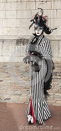 Disguised Person Editorial Stock Photo