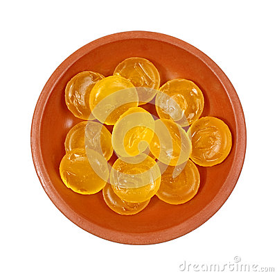 Dish Lemon Flavored Cough Drops