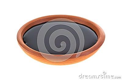 Dish of molasses