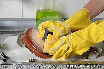 Dish Washing Royalty Free Stock Photography Image 2473147