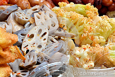Dishes of China snack