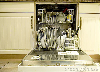 Dishwasher clean landscape