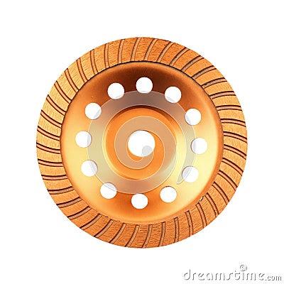 Disk for grinder