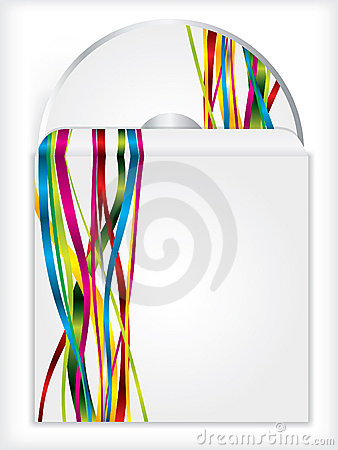 Disk and sleeve ribbon design