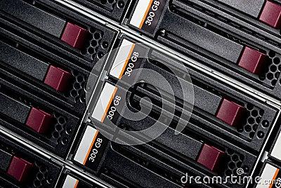 Disk storage.