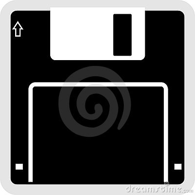 Diskettfloppysymbol