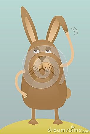 Dismal rabbit