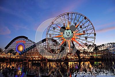 Disney Adventure Editorial Photo