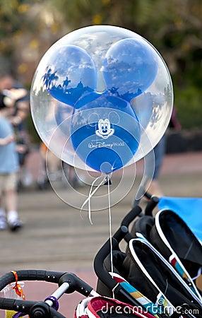 Disney Balloon Editorial Photo