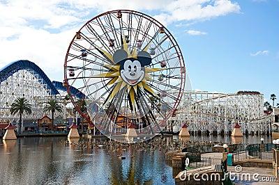 Disney California Adventure Editorial Stock Image