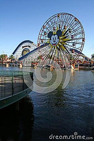 Disney California Adventure™ Park Editorial Stock Photo