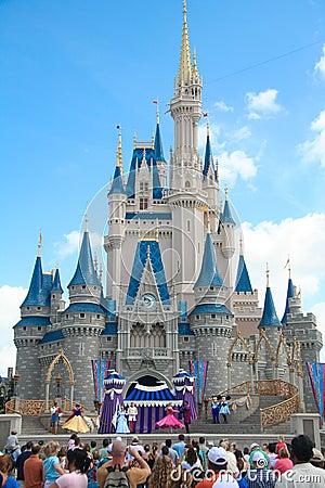 Disney Castle Editorial Stock Image