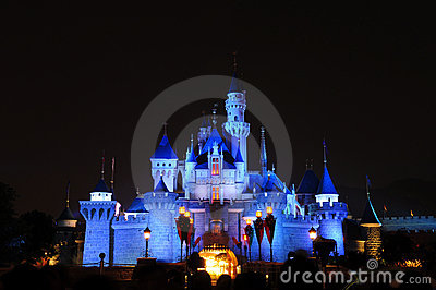 Disney Castle Editorial Image