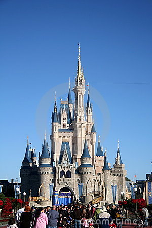 Disney Castle Editorial Stock Photo