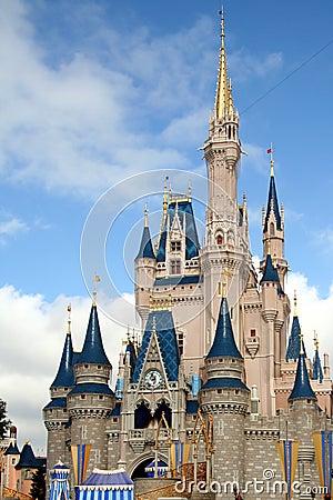 Disney Castle Editorial Photo