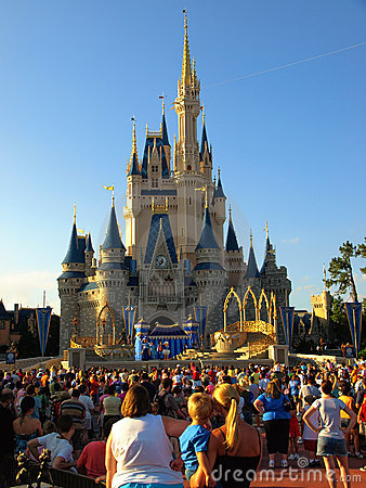 Disney Castle Walt Disney World Editorial Photography