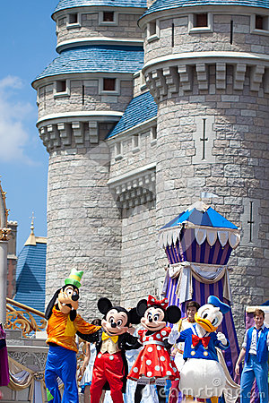 Disney Characters Editorial Photo