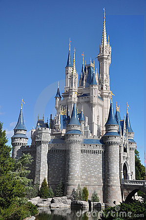 Disney Cinderella Castle Walt Disney World Editorial Image