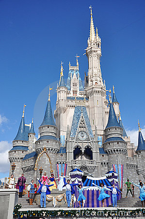 Disney Cinderella Castle Walt Disney World Editorial Photo