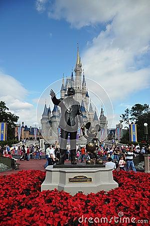 walt disney world castle christmas. walt disney world castle