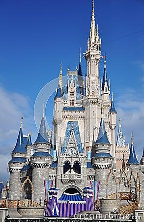 Disney Cinderella Castle Walt Disney World Editorial Photography