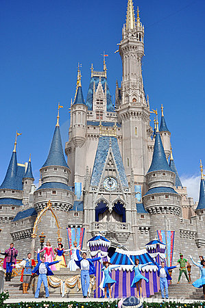 Disney Cinderella Castle Walt Disney World Editorial Photography