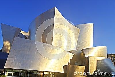 Disney Concert Hall Editorial Photo