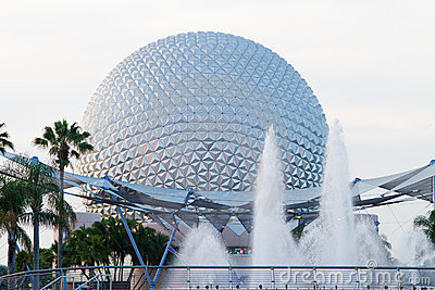 Disney Epcot Editorial Photography