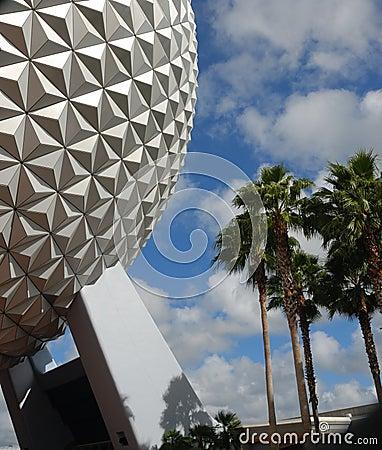 Disney Epcot Center Florida Editorial Stock Photo