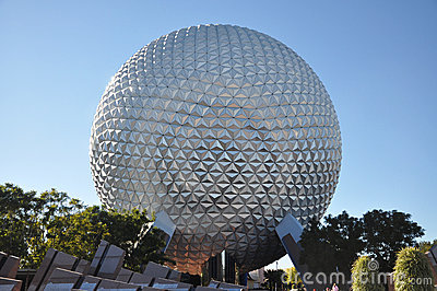 Disney Epcot Center, Orlando, Florida Editorial Image