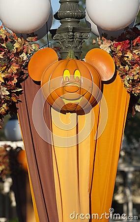 Disney Halloween Editorial Image
