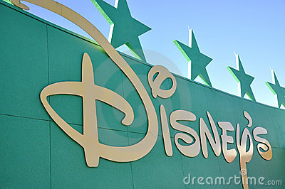 Disney Logo Editorial Photo