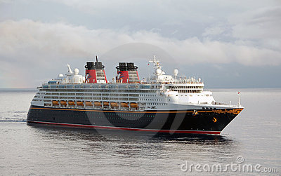 Disney magic cruise ship Editorial Photography