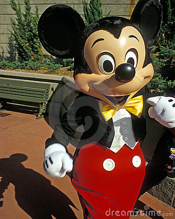 Disney Magic Kingdom Mickey Mouse Editorial Stock Photo