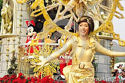 Disney Parade Editorial Stock Photo