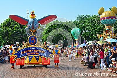 Disney parade Editorial Image
