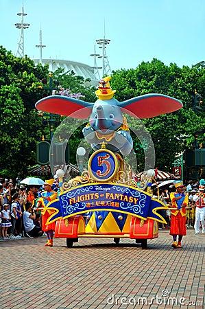 Disney parade Editorial Photo