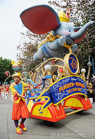 Disney parade in Hongkong Editorial Photography