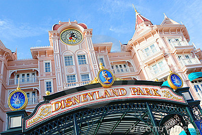 Disney Paris Editorial Photo