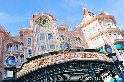 Disney Paris Editorial Photo