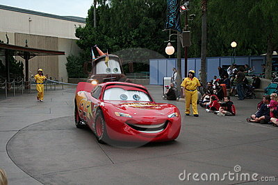 Disney s California Adventure Parade Editorial Photography
